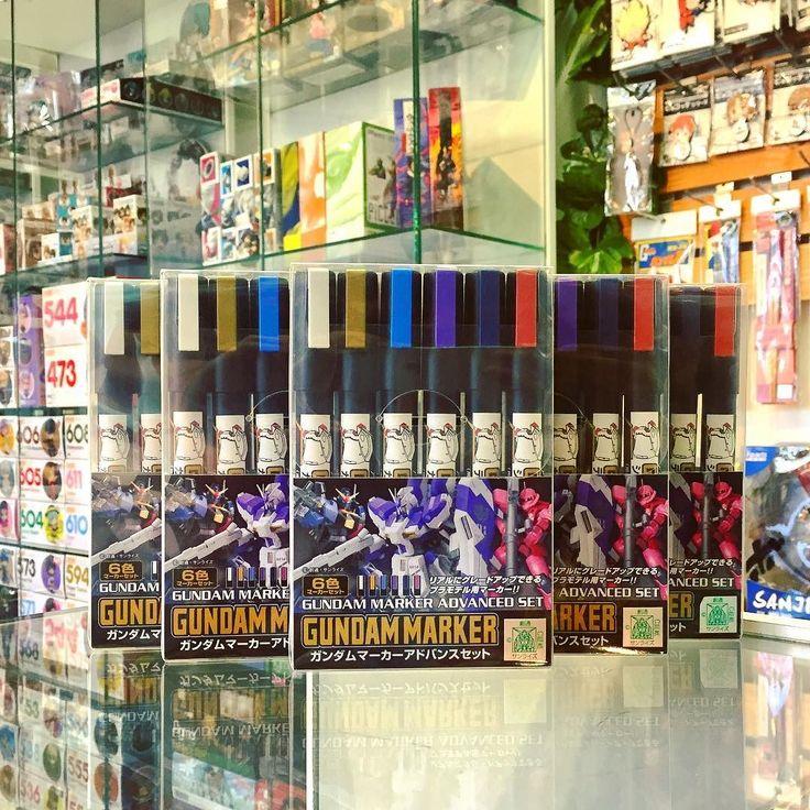 Están disponibles los nuevos set de Gundam Marker en la tienda de Providencia!  Incluye 4 nuevos colores y los más que utilizados Blanco y Dorado metalizado.  Encuéntralos en #Zaitama por solo $13.500  y todos los Gundam Marker sueltos a $2.490!