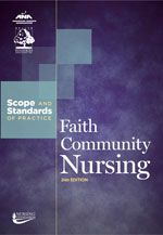 Faith community nursing is a practice specialty that focuses on the intentional care of the spirit, promotion of an integrative model of health, and prevention and minimization of illness within the context of a faith community. Such practitioners consider the spiritual, physical, psychological, and social aspects of an individual to create a sense of harmony with self, others, the environment, and a higher power.