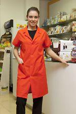 PAGAMENTO ANCHE ALLA CONSEGNA Camice da Lavoro Uomo Donna Manica corta Laboratorio Abbigliamento Abiti