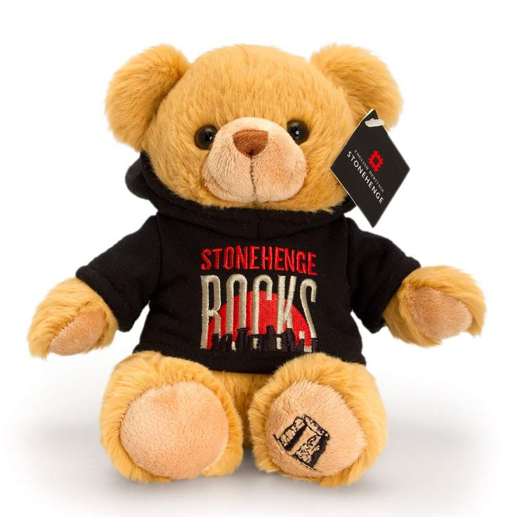 Exclusive to Englsih Heritage this Stonehenge rocks teddy bear makes a great momento from this special place. Produced by Keep Toys this teddy makes a lovely keepsake gift.