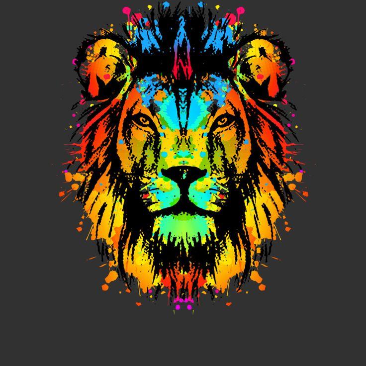 Lion t shirt design t shirt design pinterest t for T shirt designs erstellen