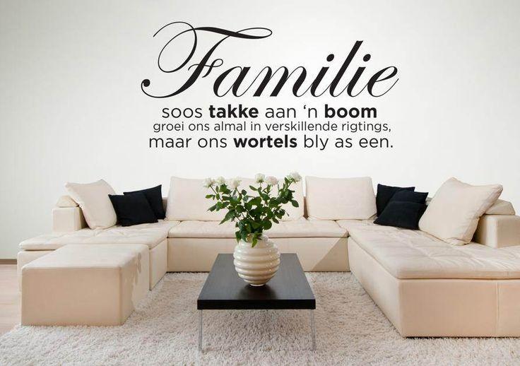 Familie is soos...