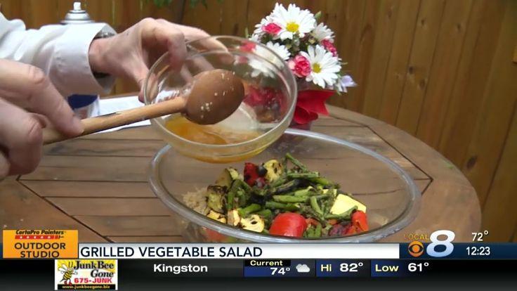 Grilled Vegetable Salad Thursday, April 20, 2017