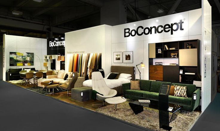 BoConcept @ Ideal Home Show 2016 #ExhibitionStand #TradeShow #Design #Marketing