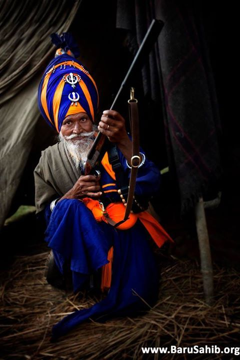 Guns of Nihangs- Amardeep Singh