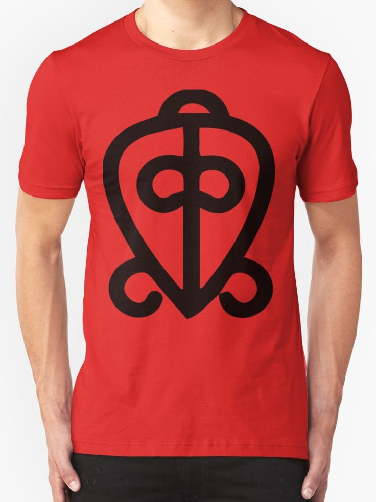 Adinkra symbol: Power of love by handcraftline