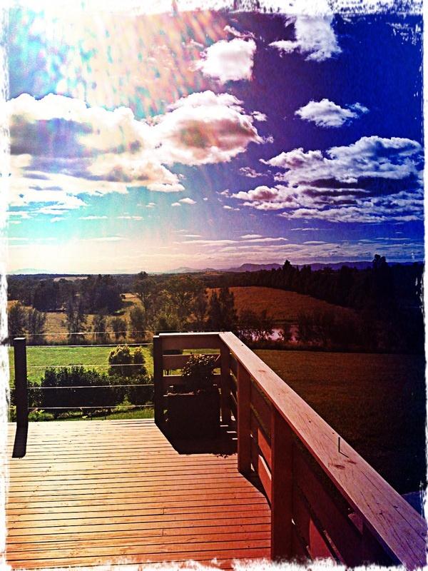 Very cool balcony shot - Hunter Valley, Australia
