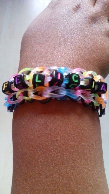 KG Loomparty creeërt nu ook naam armbandjes! €3,- per stuk. Super leuk voor de kinderen, een team, klas of speciale gelegenheid.