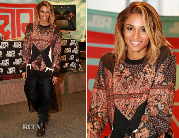 Ciara In Givenchy – 'Ciara' Album Promotion