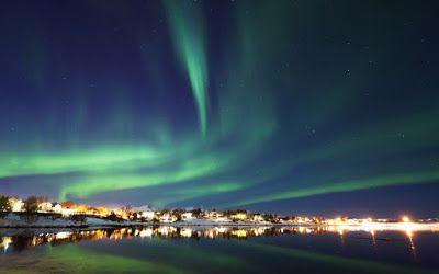 Όταν το Βόρειο Σέλας χορεύει στον ουρανό της Νορβηγίας