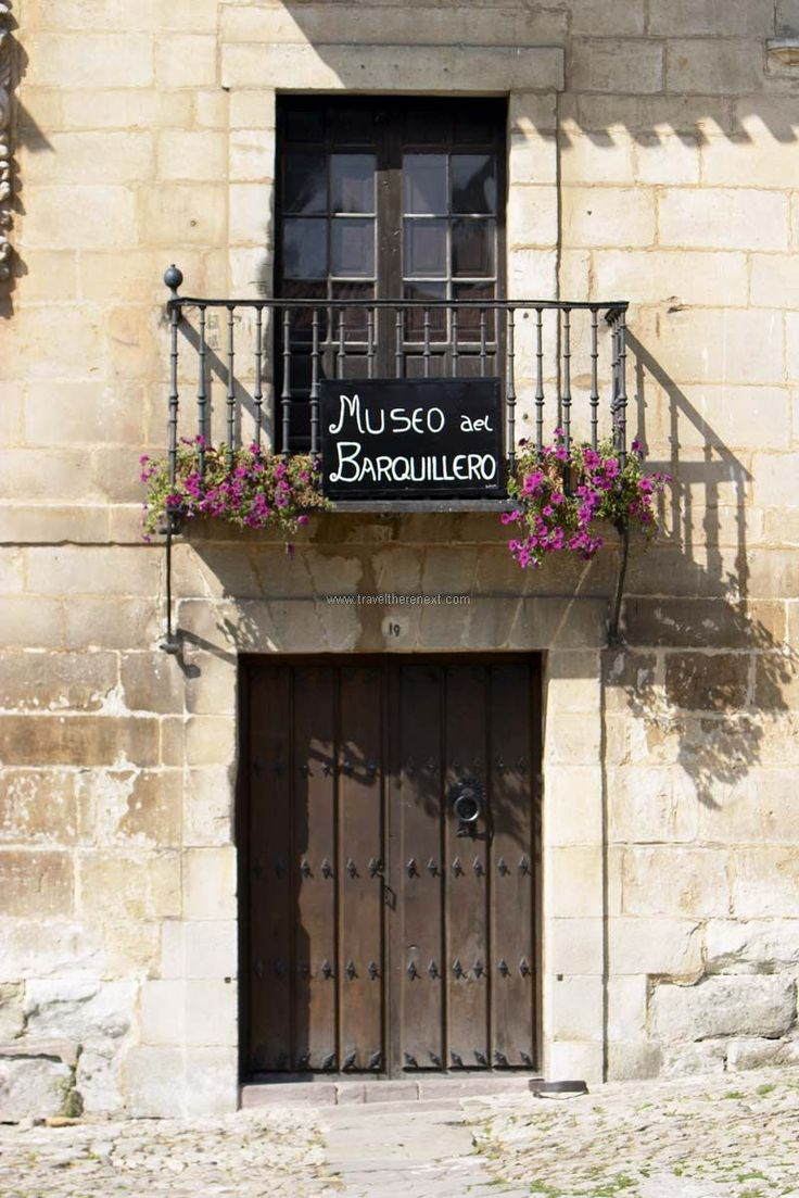 Santillana del Mar - Flowers handing from balcony planter-box  #spain #santillanadelmar #village #history #discover #travel #traveltherenext