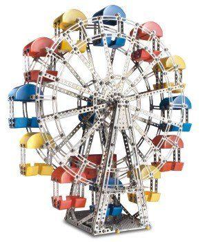 Конструктор Чертово колесо - Купить развивающие конструкторы для детей по низким ценам - Интернет-магазин игрушек Головастик