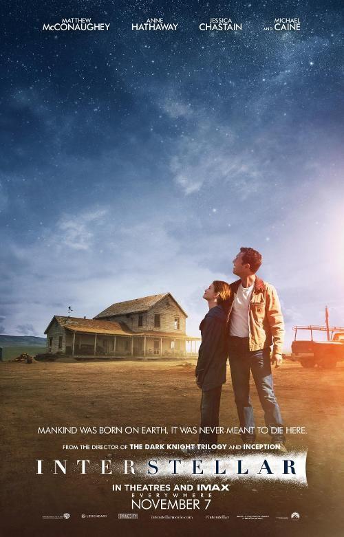 Interstellar de Christopher Nolan - 05/11/14 à #Kinepolis - Matthew McConaughey, Anne Hathaway, Jessica Chastain, Michael Caine http://kinepolis.fr/films/interstellar?utm_source=pinterest&utm_medium=social&utm_campaign=interstellar#showtimes