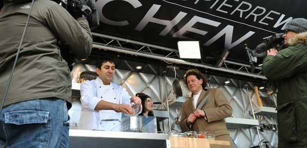 Me cooking for Marco Pierre White in Liverpool!  A fun packed day!