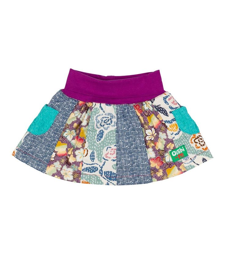 Butter Cup 12 Panel Skirt, Oishi-m Clothing for kids, Winter 2016, www.oishi-m.com