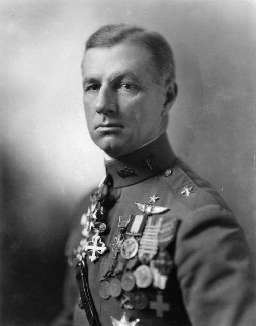 Billy Mitchell in uniform.