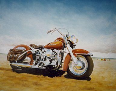 Angvert. Oil on canvas. Ca 600 mm