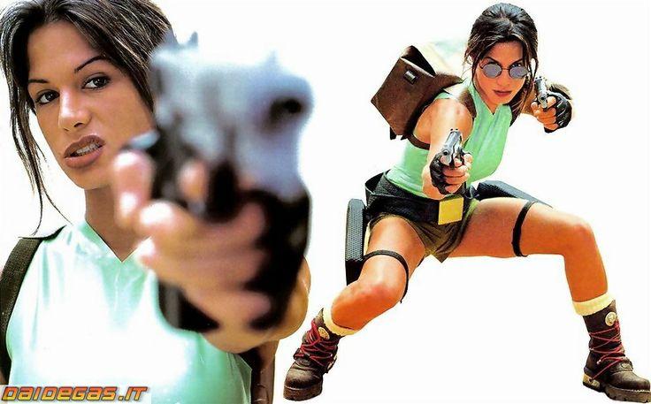 Rhona Mitra as Lara Croft | Rhona Mitra sexy Lara Croft tomb raider hottie