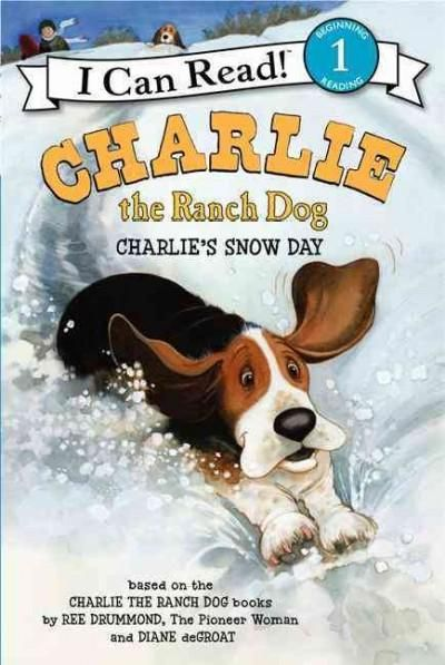 Ree Drummond (also known as The Pioneer Woman) and Charlie the Ranch Dog return in this snow-filled I Can Read title. When Charlie wakes up to a world covered in snow, he can't wait to go outside. He