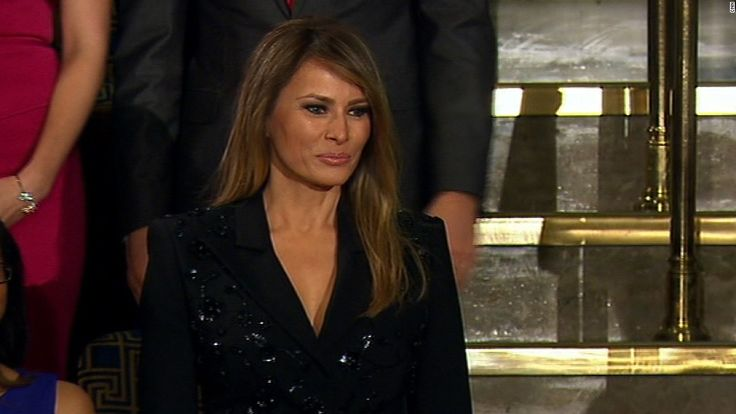 Melania Trump's approval ratings are way up - CNNPolitics.com
