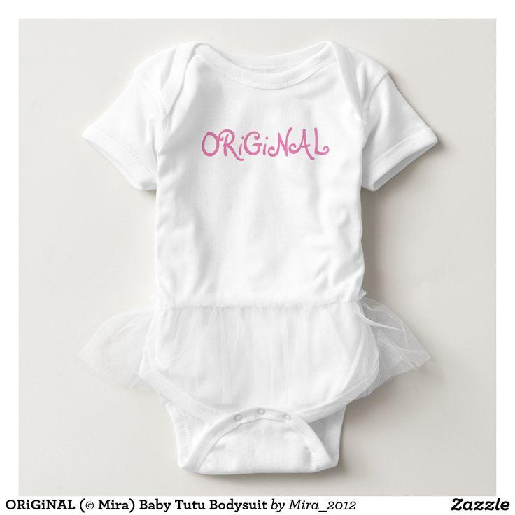 ORiGiNAL (© Mira) Baby Tutu Bodysuit