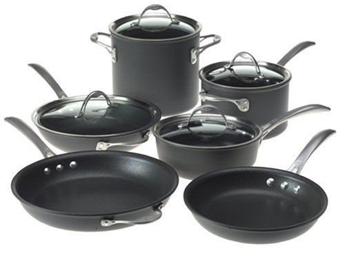 My kitchen needs Calphalon Cookware Set. Hiqh quality cook ware that I can't afford right now. One day...