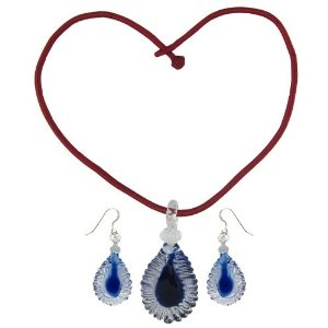 Indian Pendant and Earrings Set Crystal Costume Jewelry (Jewelry)  http://documentaries.me.uk/other.php?p=B007UXF2GW  B007UXF2GW