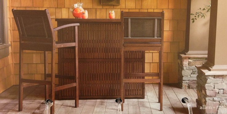 Outdoor Bar Sets Lowes: 17 Best Images About Lowes Woodwinds Eucalyptus Patio