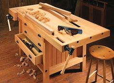 Cabinetmaker's Workbench | Woodsmith Plans