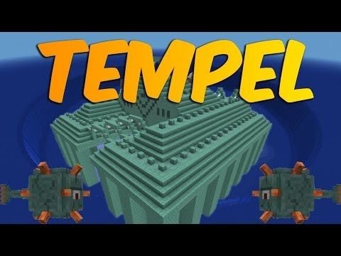 Minecraft - Water Temple: Timelapse and Cinematic! - YouTube
