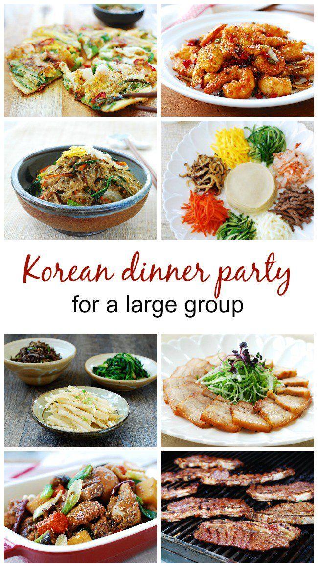 Korean Dinner Party Menu Ideas Korean Bapsang Dinner Party Recipes Korean Dinner Party Korean Appetizers