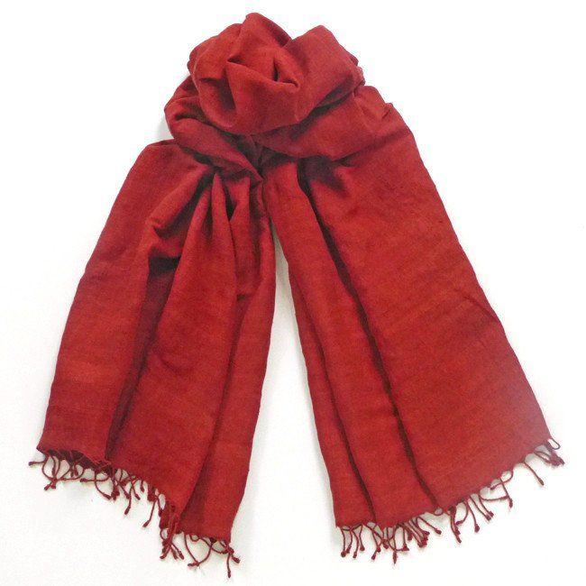 Red Ochre shawl