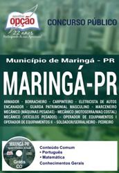 Promoção -  Apostila Maringá PR - Vários cargos  #Aprovado