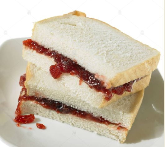 Can you remember when jam sandwiches (Jam Butty) were a real treat? We were happy to eat lard on bread but jam was sheer heaven especially when it was homemade