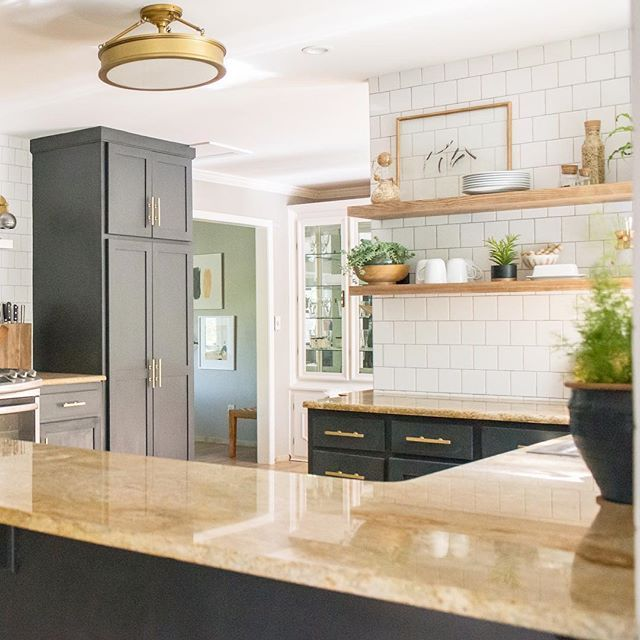 Kitchen Renovations Dark Cabinets: Kitchens To Go, Kitchen Paint Design And Farmhouse