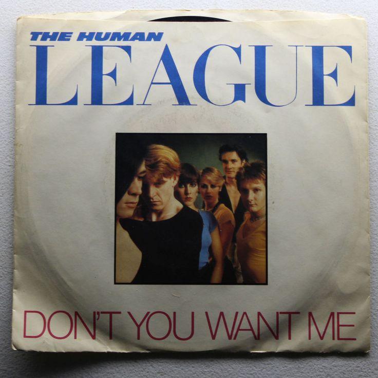 Vintage The Human League Don T You Want Me Seconds 45