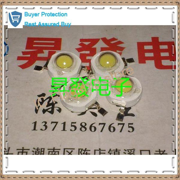 Тайвань импортированных белый свет 3 Вт из светодиодов лампы бусины в новом веке 180 - 200 лм ультра-толстые четыре золотые нити 45 млм