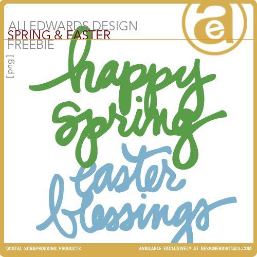 Spring and Easter word art | Tips - Blogging | Pinterest ...