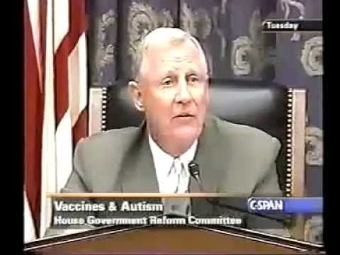 Merisol Mercury added into the vaccines:                    Congressman Dan Burton grills FDA rep on vaccines and autism (C-Span, 2002)  Congressman Dan Burton grills FDA rep on vaccines and autism (C-Span, 2002) his grandson had 9 shots in 1 day (40 times of the amount for an adult of Merisol and Mercury added into the vaccines) watch what happened... his grandson became Autistic
