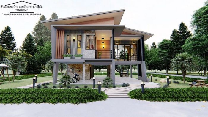 Loft Style House Plans In 2020 Loft Style Homes House Exterior House On Stilts