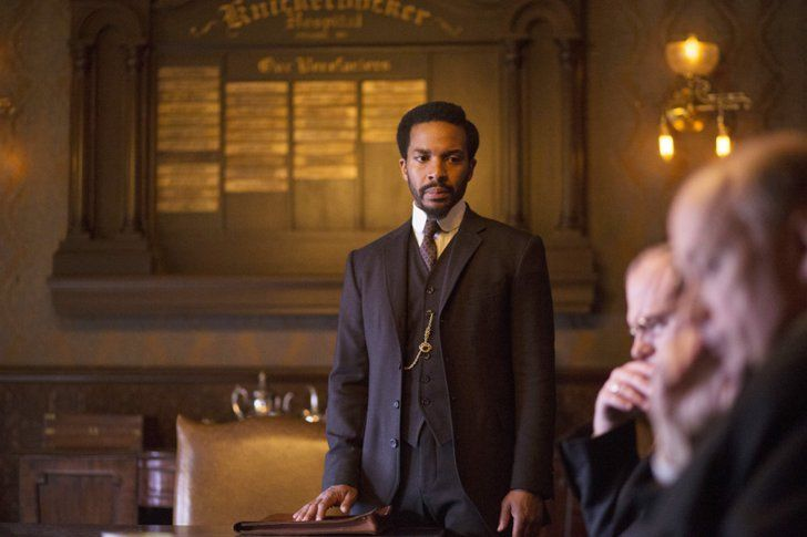 Pin for Later: 20 Photos That Prove Andre Holland Looks Hot in Any Historical Era As well as pensive brooding.
