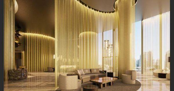 DAMAC Residenze @ Damac Heights Dubai Marina. The highest standards of FENDI Casa interior design