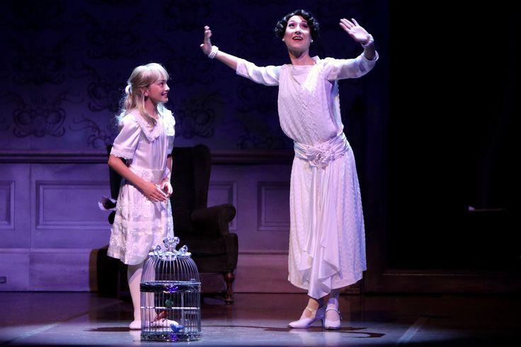 Lilliana Breen and Florence Leroux-Coléno in Cinderella. Photo by Emma Fishwick