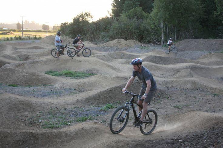 Mountain Bike Station: Trails - Te Pepe Pump Track
