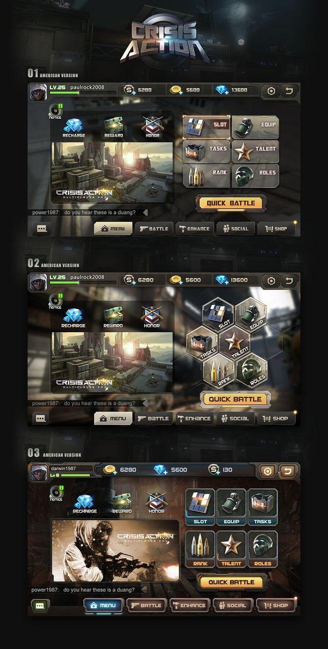 游戏界面|UI|游戏UI|markli1...