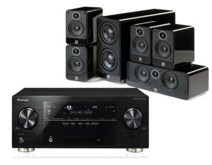 Nintronics - Home cinema Package - Pioneer VSX-2022 Black + Q Acoustics 2010i Home Cinema Speaker Package Gloss Black + QED cable pack bundle worth £150 - http://www.cheaptohome.co.uk/nintronics-home-cinema-package-pioneer-vsx-2022-black-q-acoustics-2010i-home-cinema-speaker-package-gloss-black-qed-cable-pack-bundle-worth-150/