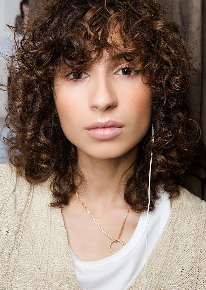 Pin On Curly Hair With Bangs