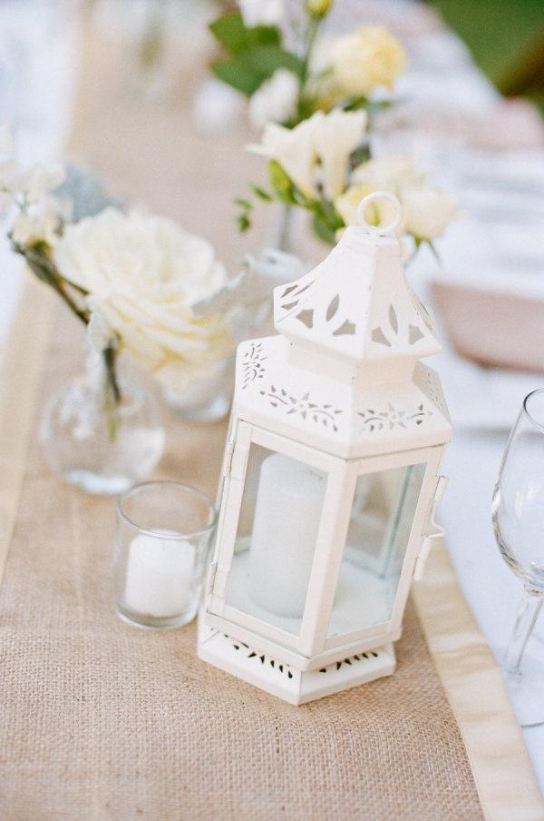 centerpieces - love the lantern idea