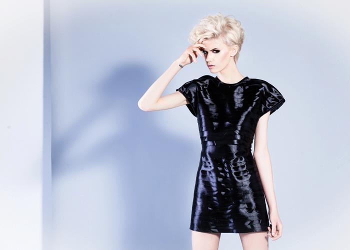 MIRROR  Model: Klaudia Kozik-Grabowska  Photo: Edyta Potrząsaj  Make up & Hair Joanna Wolff  Fashion Designer: Sybilla Dąbrowa & Anja Nemezja
