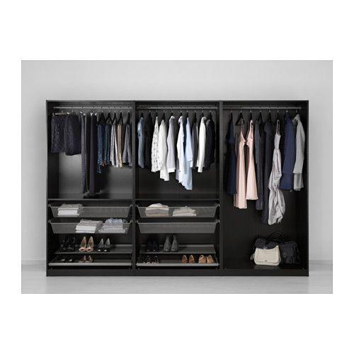 PAX Wardrobe - 200x58x201 cm - IKEA Master room Pinterest Pax - armoire ikea porte coulissante